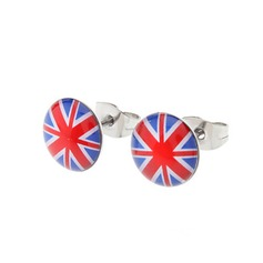 Unique Stainless Steel Ladies' Fashion Earrings