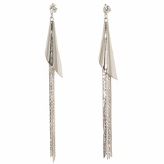 Unique Iron With Tassels Women's Earrings