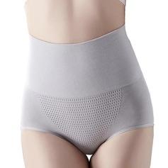 Mulheres Charme/Casual Spandex do/Algodão/Chinlon Respirabilidade/Permeabilidade da umidade Cintura Alta Calcinhas Cintas