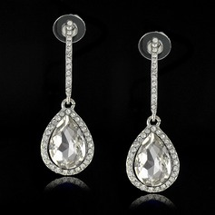 Charming Alloy/Crystal With Rhinestone Ladies' Earrings