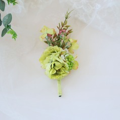 Stoff Knopflochblume (Sold in a single piece) -