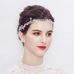 Dame Smukke Legering Pandebånd med Venetiansk Perle