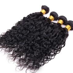 5A Jungfrau / Remy Wasserwelle Menschliches Haar Geflecht aus Menschenhaar (Einzelstück verkauft) 100g
