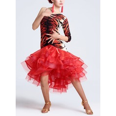 Donna Abbigliamento danza Nylon Ballo latino Abiti