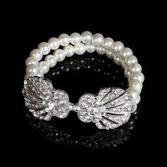 Lysande Strass med Kristall Damer' Armband