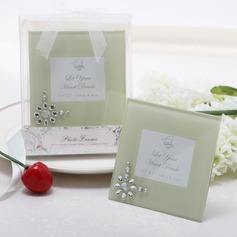 Glass Photo Frames With Rhinestone