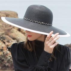Señoras' Glamorosa/Estilo clásico/Elegante/Simple/Niza Pp Sombreros Playa / Sol