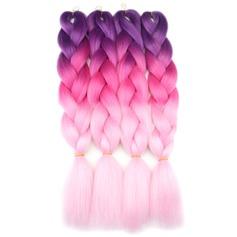 Tout droit cheveux synthétiques Tresses (Vendu en une seule pièce) 150g