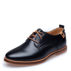 Men's Leatherette Lace-up Dress Shoes Work Men's Oxfords