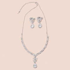 Elegant Zircon Jewelry Sets For Bride For Bridesmaid For Mother For Friends