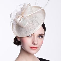 Glamorøse Fjær/Cambric Hatt