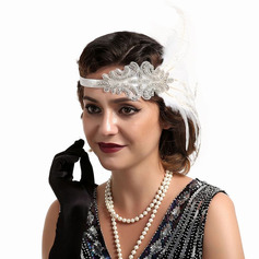 Ladies' Glamourous/Unique/Amazing/Eye-catching Feather With Feather Fascinators/Kentucky Derby Hats/Tea Party Hats (196220136)