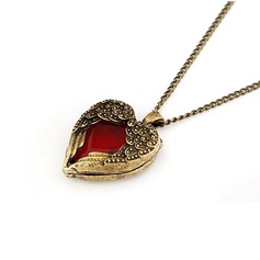 Heart Shaped Alloy Women's Fashion Necklace (137044764)