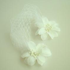 Dame Smukke Netto garn/Silke Blomst Panden Smykker