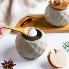 Moderna / contemporanea Ceramica Storage & Organizzazione (Venduto in un unico pezzo)