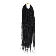 serrures d'effroi / Faux Locs cheveux synthétiques Tresses 22 brins par paquet 80g