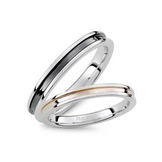 Argent sterling Les anneaux du couple