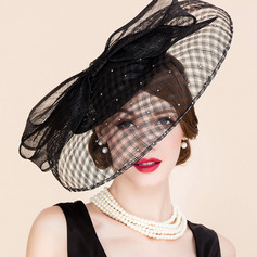 Ladies' Beautiful/Glamourous/Elegant/Exquisite Cambric Tea Party Hats