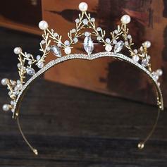 Damen Elegant Faux-Perlen Stirnbänder (In Einem Stück Verkauft)