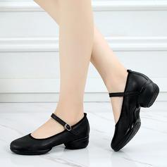 De mujer Piel Zapatillas Estilo Moderno Zapatos de danza