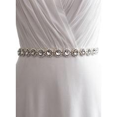 Mode Satin Schleifenbänder/Stoffgürtel mit Strasssteine/Faux-Perlen