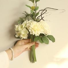 """Simple/Gentil """"Belle Fleur"""" Plastique/Tissu Fleurs artificielles"""