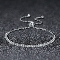 Utsökt silver Damer' Mode Armband