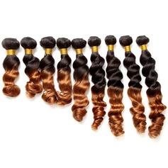 4A Non remy En vrac les cheveux humains Tissage en cheveux humains (Vendu en une seule pièce)