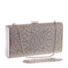 Elegant Kristall/Strass Mode handväskor