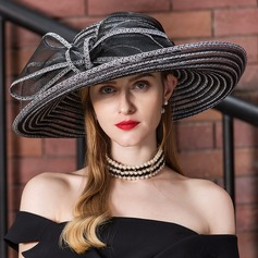 Dames Klassiek Batist Slappe Hat/Kentucky Derby Hats (196163115)