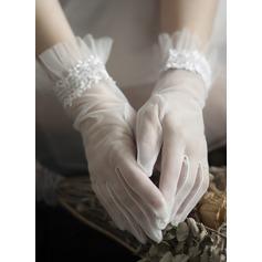 Tyl Wrist Længde Brude Handsker (014203325)