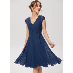 V-Neck Cocktail Dress (016230173)