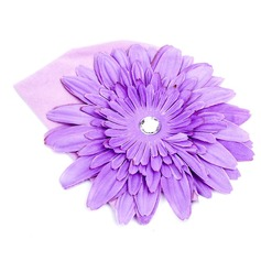 Lovely/Flor em forma Flor de seda/Algodão/Acrílico Chapéu