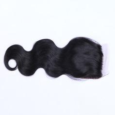 "4""*4"" 4A Nicht remy Körper Menschliches Haar Bedeckung (Einzelstück verkauft) 100g"