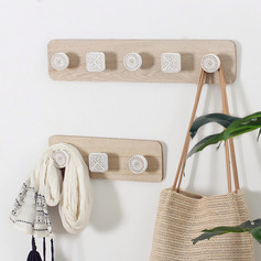 красивая классический симпатичный деревянный Настенный крюк