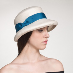 Ladies' Beautiful/Classic/Elegant Raffia Straw Fedora Hats