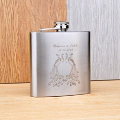 Personalized Peacock design Stainless Steel 160ml(6-oz)