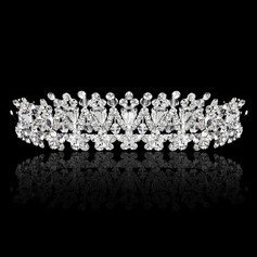 Høy Kvalitet Crystal/Rhinestone/Legering Tiaraer