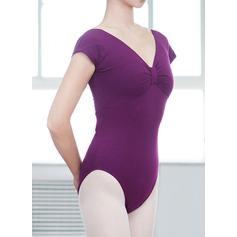 Frauen Tanzkleidung Baumwolle Ballett Training Turnanzug