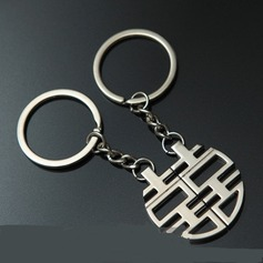 Classic Double Happiness Zinc alloy Keychains