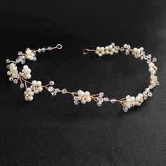 Damer Vackra Och koppar Pannband Venetianska Pärla (Säljs i ett enda stycke)