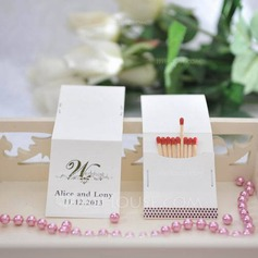 Personalized Hard Card Paper Matchboxes (Set of 50)