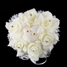 Round Foam Bridal Bouquets/Bridesmaid Bouquets (Sold in a single piece) -