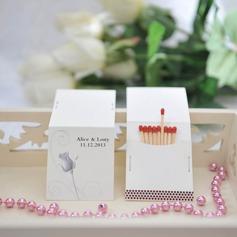 Personalizado Adorável Rosa papel cartão duro (Conjunto de 50)