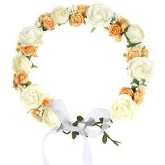 Rose Menyfliks huvudbonad blomma -