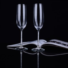 Personalized Classic Toasting Flutes (Set Of 2)