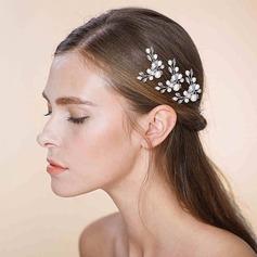 Filles Unique De faux pearl épingles à cheveux avec Perle Vénitienne