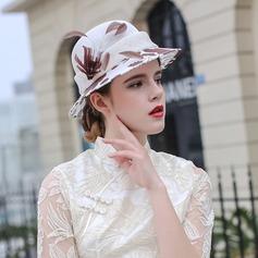 Ladies' Beautiful/Fashion/Glamourous/Elegant/Unique/Amazing/Eye-catching/Charming/Fancy/Romantic/Vintage/Artistic Cambric Beach/Sun Hats