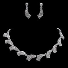 Nydelig Legering/Rhinestones Kvinner Smykker Sett
