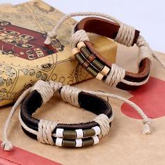 Snygg Legering Läder Rp Könsneutrala Mode Armband (Säljs i ett enda stycke)